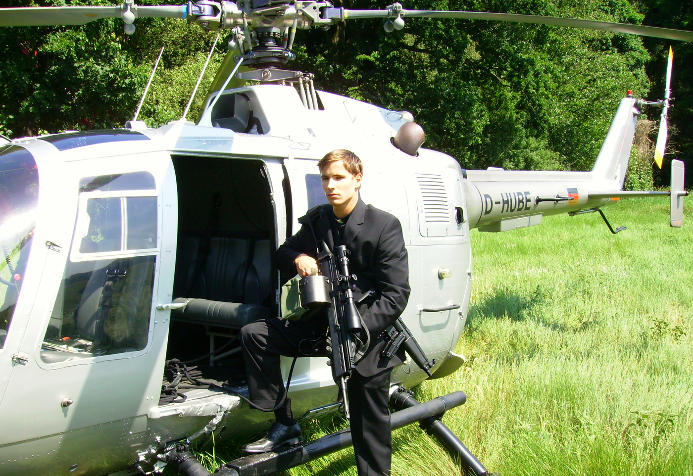 Martin Goeres, Combat Shooting, Stunt, Rappeling, Helicopter, Shooting