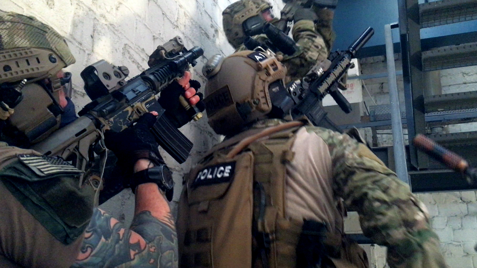 MG Action, Martin Goeres, Special Forces, FBI HRT, Room Clearing